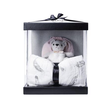 LITTLE KUKU BEAR – מתנה ליולדת, מארז לידה